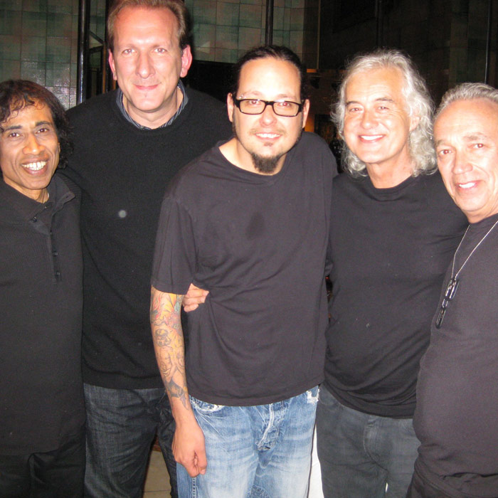 Jimmy Page, Jonathan Davis, Shenkar in London